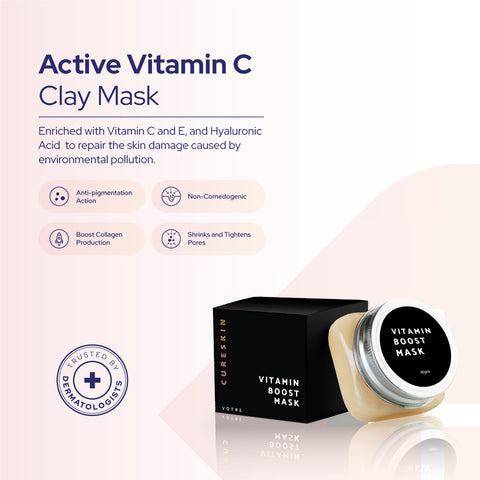 Active Vitamin C Clay Mask