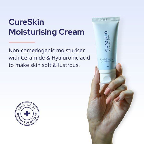 CureSkin Hyaluronic and Ceramide Moisturising Cream