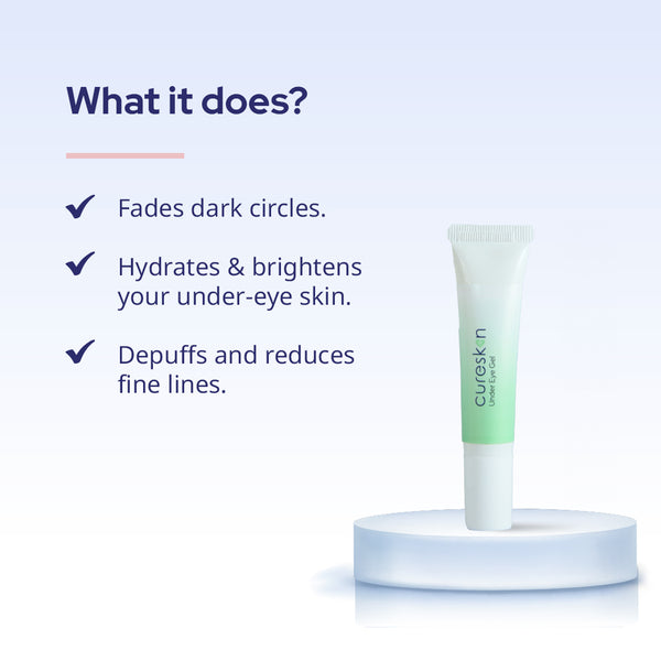 CureSkin Under Eye Gel