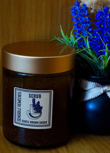 gentle brown sugar scrub