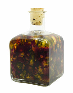 Body and Massage Oil Infused with Organic Rose Petals