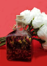 Load image into Gallery viewer, Body and Massage Oil Infused with Organic Rose Petals