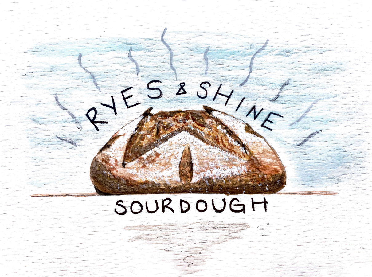 Rye's and Shine Sourdough logo