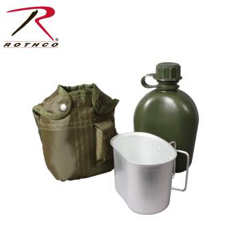 3 Piece Canteen Kit - Texas Adventure and Survival