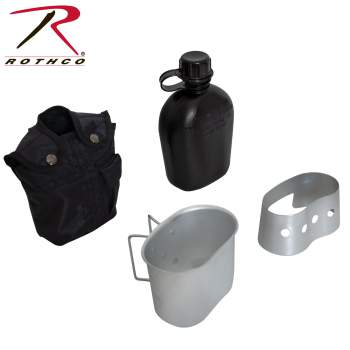 4 Piece Canteen Kit - Texas Adventure and Survival