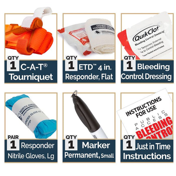 Bleeding Control Kit - STB - Texas Adventure and Survival
