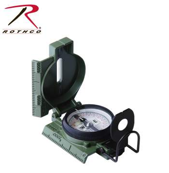 Cammenga G.I. Military Phosphorescent Lensatic Compass - Texas Adventure and Survival