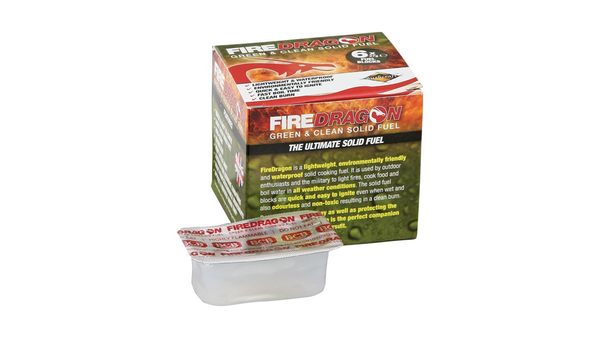 FireDragon Solid Fuel Block - Texas Adventure and Survival