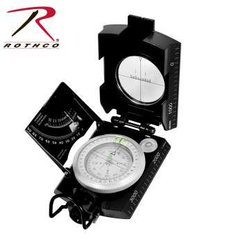 Rothco Deluxe Marching Compass - Texas Adventure and Survival