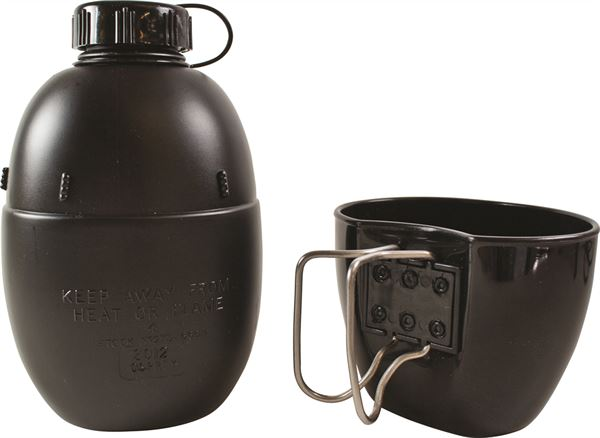 NATO Water Bottle and Mug - Texas Adventure and Survival
