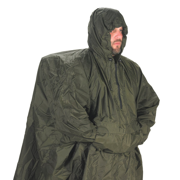 Enhanced Patrol Poncho - Texas Adventure and Survival