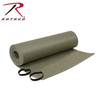 Rothco G.I. Sleeping Pad w/Ties - Texas Adventure and Survival