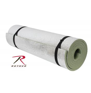 Rothco Thermal Reflective Od Sleeping Pad W/ Ties - Texas Adventure and Survival