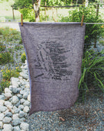 VAN ISLE - Organic Cotton & Hemp Tea Towel