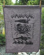 WEST COAST BEST COAST - Organic Cotton & Hemp Tea Towel