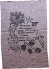 DOUGHNUTS - Organic Cotton & Hemp Tea Towel