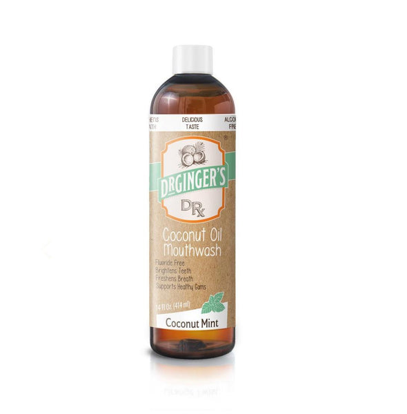 Dr. Ginger's Natural Coconut Oil Mouthwash