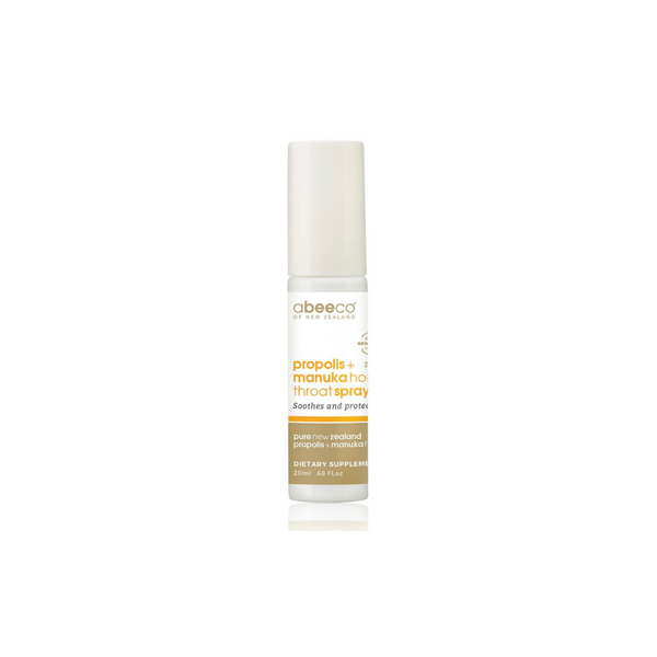Propolis + Manuka Honey Throat Spray