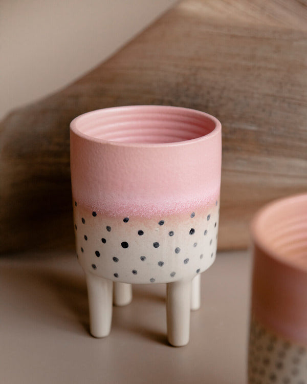 Liz Legged Ceramic Flower Pot