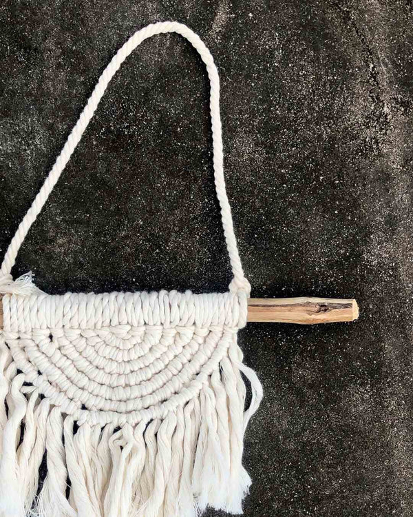 macrame wall piece