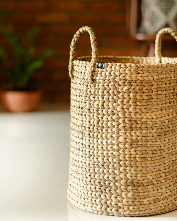 Natural Storage Basket Organiser