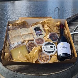 Wine & Three Cheese Hamper