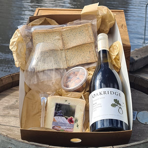 Wine & Single Cheese Hamper