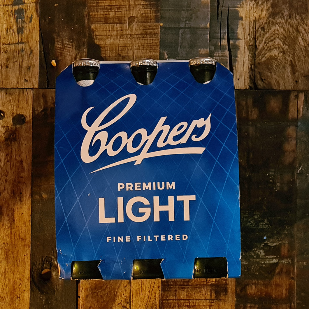 Coopers Premium Light Bottle 355ml