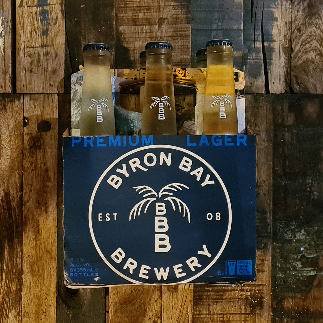 Byron Bay Lager Bottle 355ml