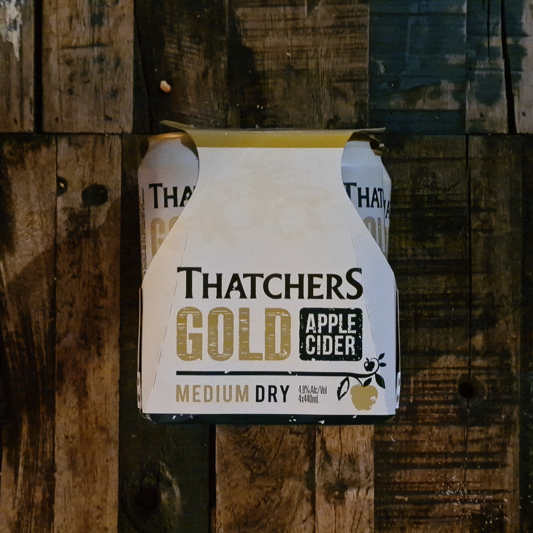 Thatcher Gold Apple Can 440ml