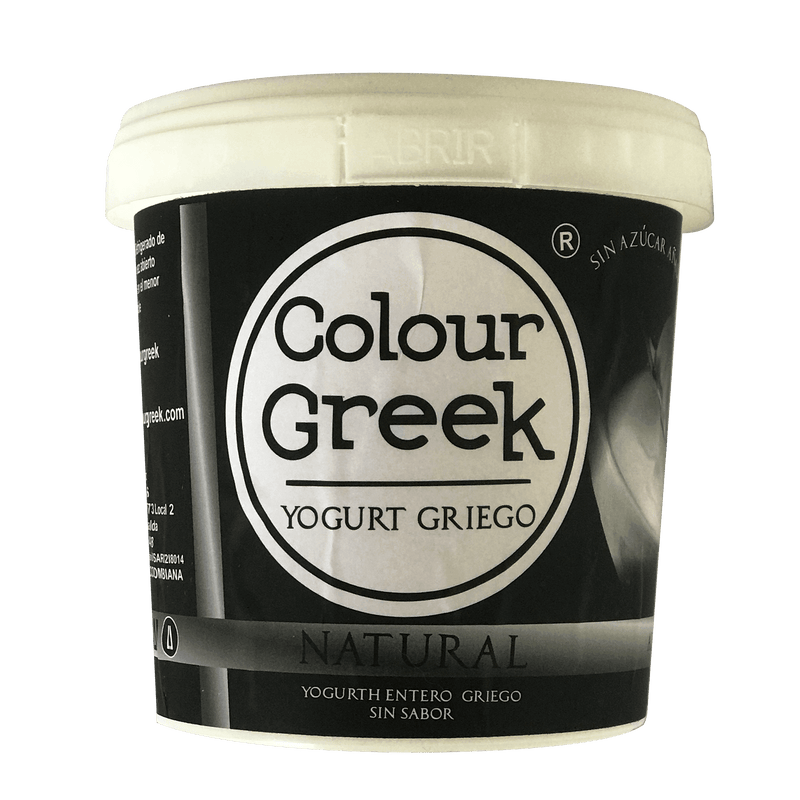 Yogurt griego natural