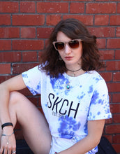Load image into Gallery viewer, SKCH BLUE CRUMPLE T-SHIRT