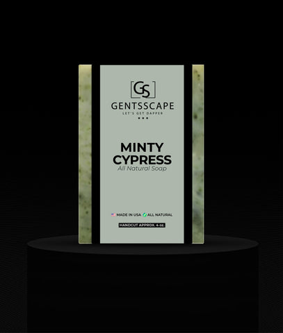 Minty Cypress Premium Soap Bar