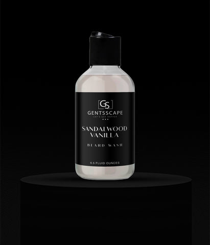 Sandalwood Vanilla Premium Beard Wash