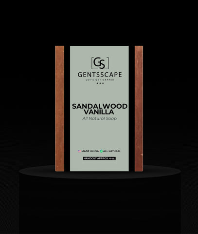 Sandalwood Vanilla Premium Soap Bar