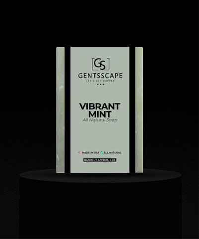 Vibrant Mint Premium Shaving Bar
