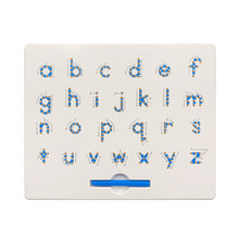 Load image into Gallery viewer, 26 Alphabet Numbers Magnetic Tablet Drawing Board