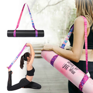 Yoga Mat Strap Belt Adjustable Sports Sling Shoulder Carry Strap Belt