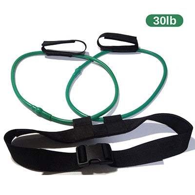 Fitness Booty Bands Butt Legs Muscle Training Resistance Bands Adjust Waist Belt Booty