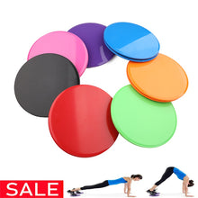Load image into Gallery viewer, Gliding Discs Slider Fitness Disc Exercise Sliding Plate For Yoga Gym Abdominal Core Training Exercise Equipment