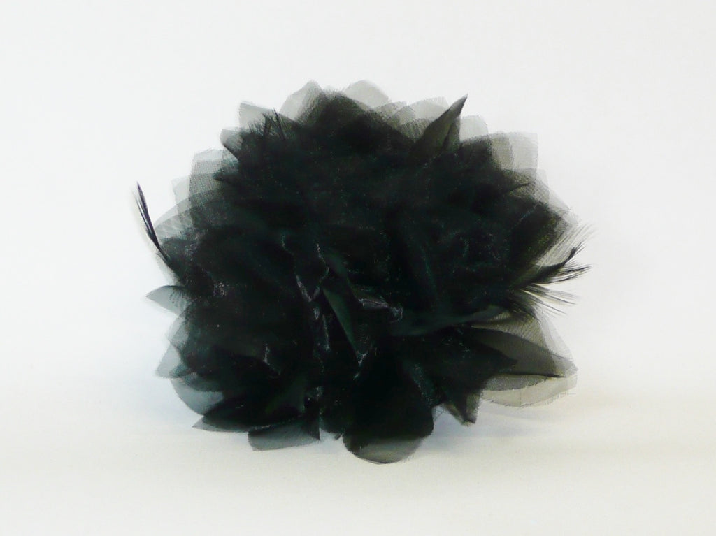 POPPET 73 Sheer Fabric Flower (Other colors available)