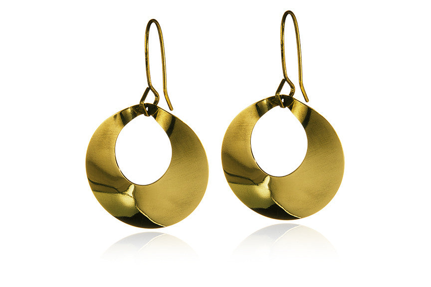 Saucer Earrings