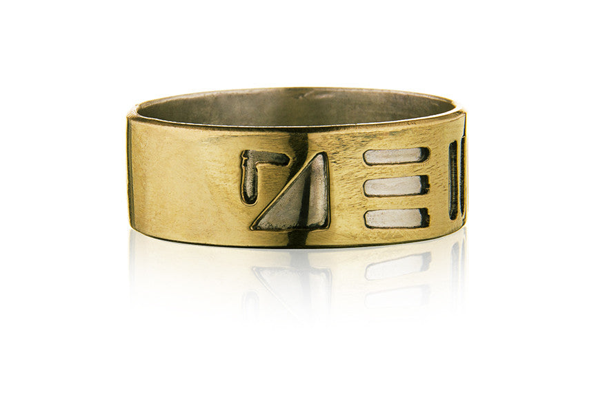 Men's Double Down Ring