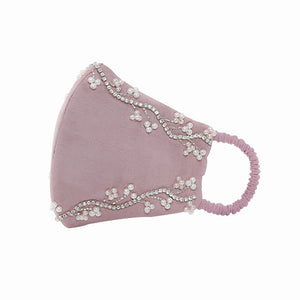 Women's  Charlotte Pink Fashion Mask