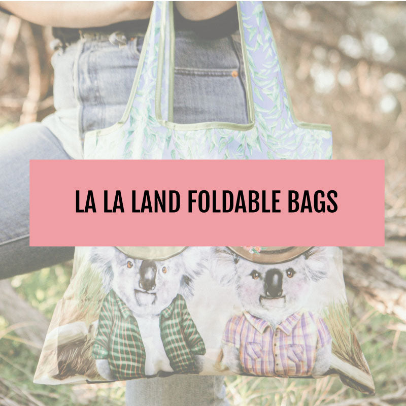 La La Land Foldable Shopper Bags
