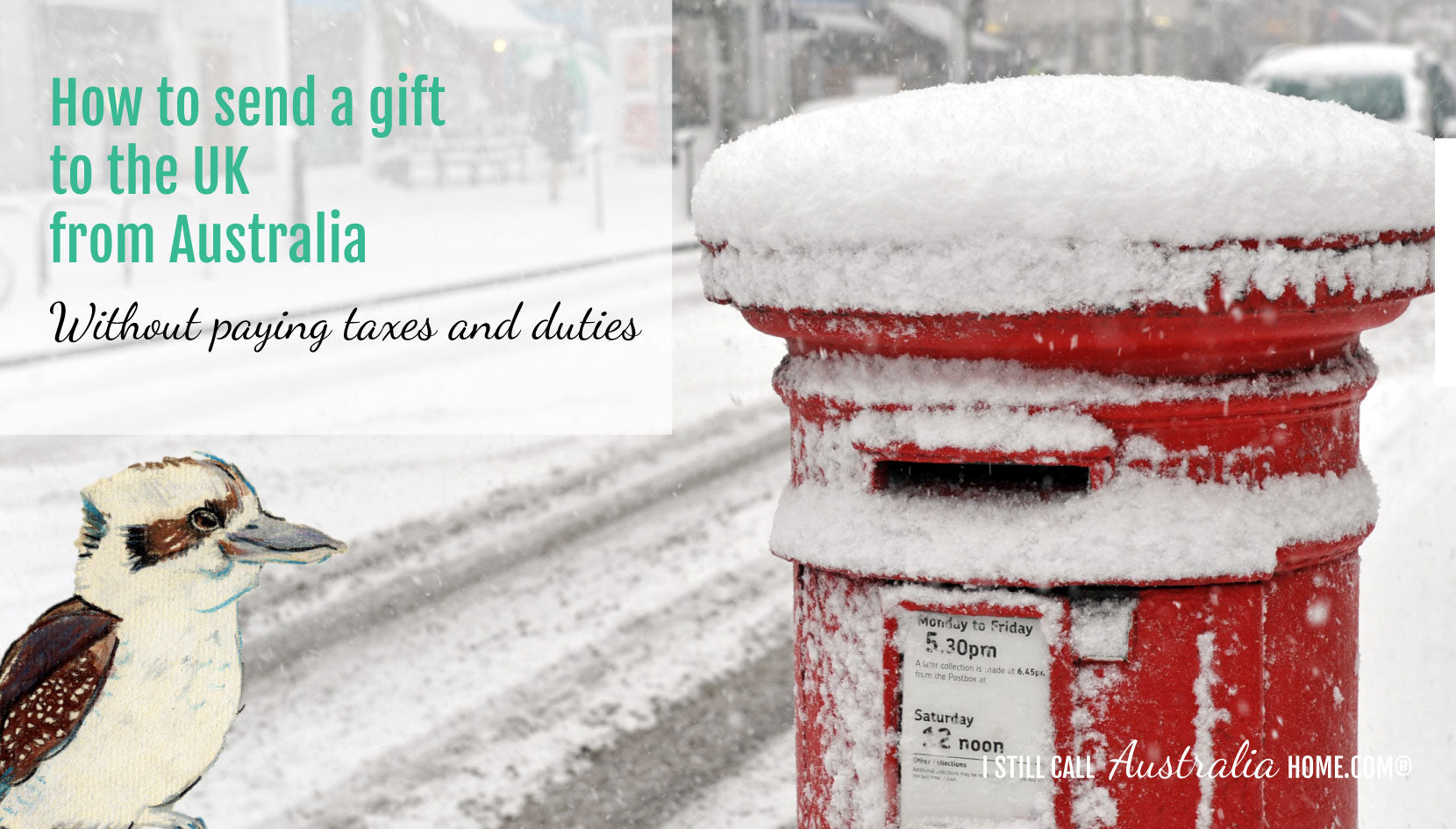 HOW TO SEND A GIFT TO THE UK FROM AUSTRALIA WITHOUT PAYING TAXES AND DUTIES