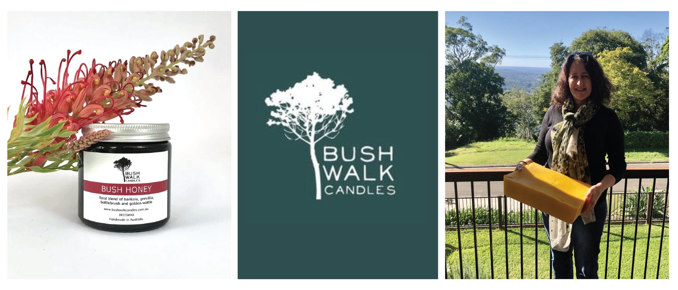 podcast bushwalk candles beeswax arabella lubbers