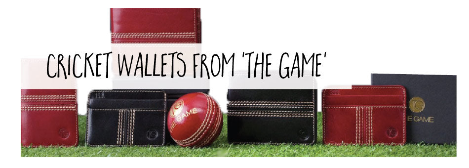 Cricket Wallets from The Game