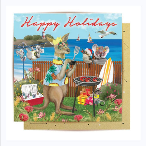 Barbeque Holiday Card