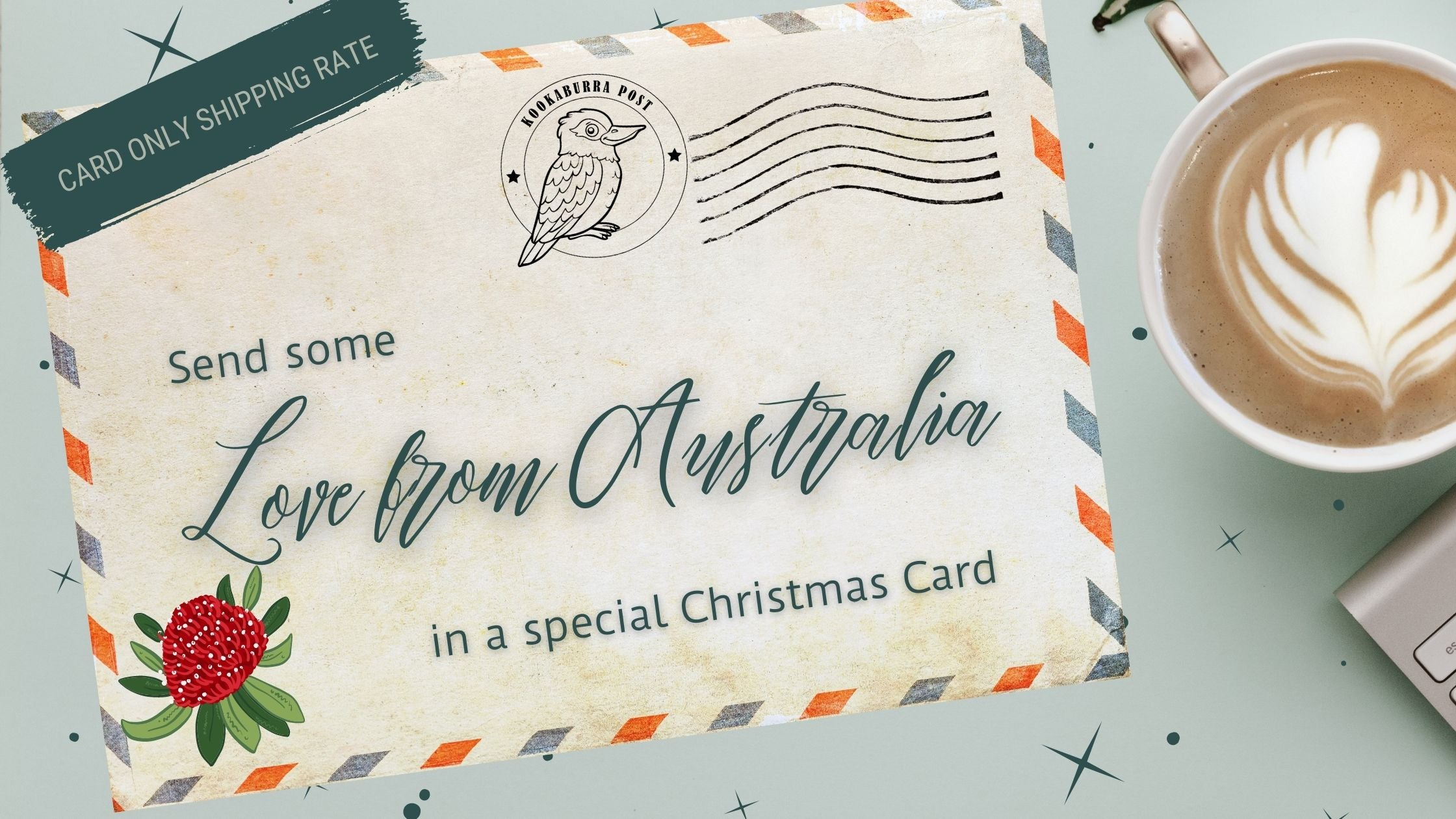 POST A CARD OVERSEAS FROM AUSTRALIA